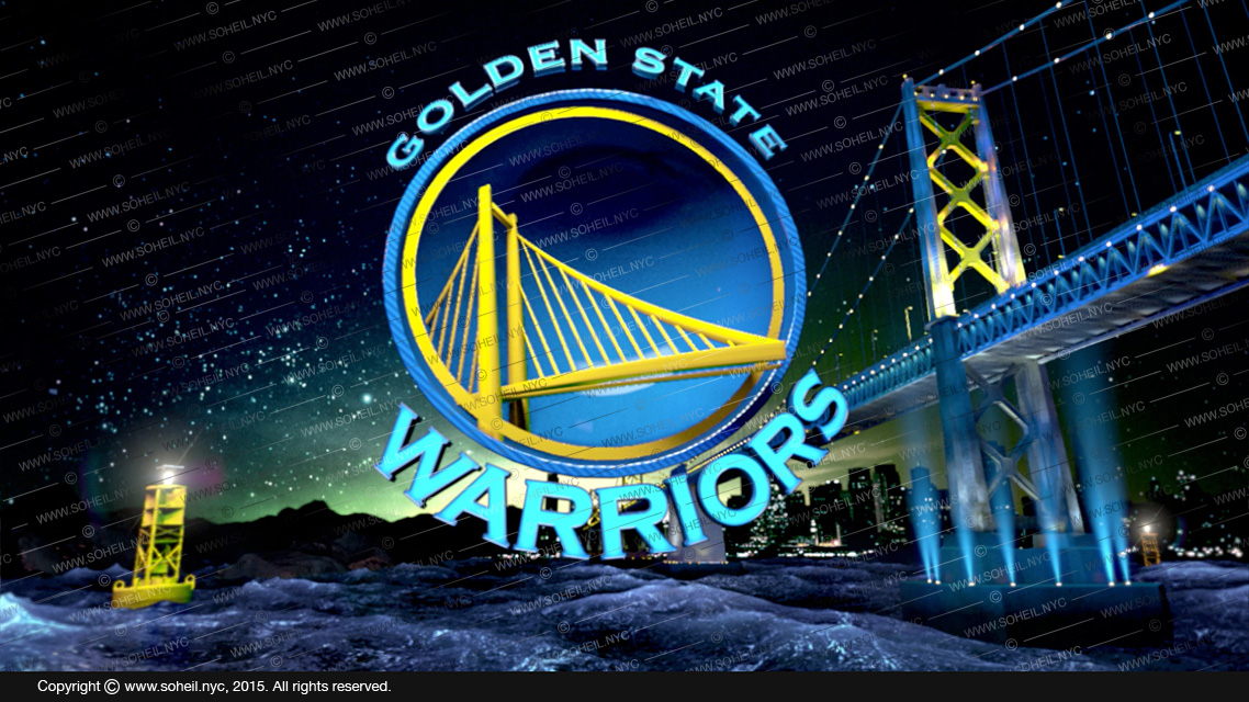 Golden State Warriors 3d Logo